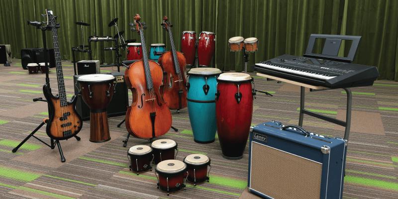 band-room